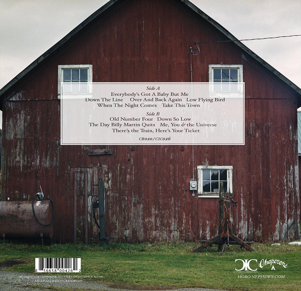 AMERICAN SHUFFLE Vinyl Back Cover