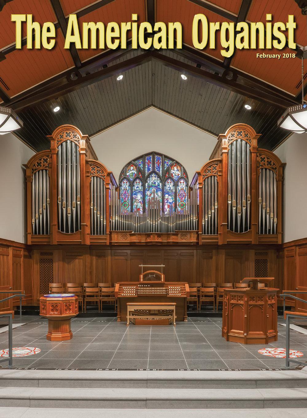 American Organist 2018, Shandon Presbyterian