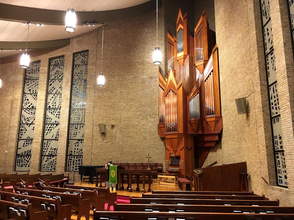 First Presbyterian Church - side view
