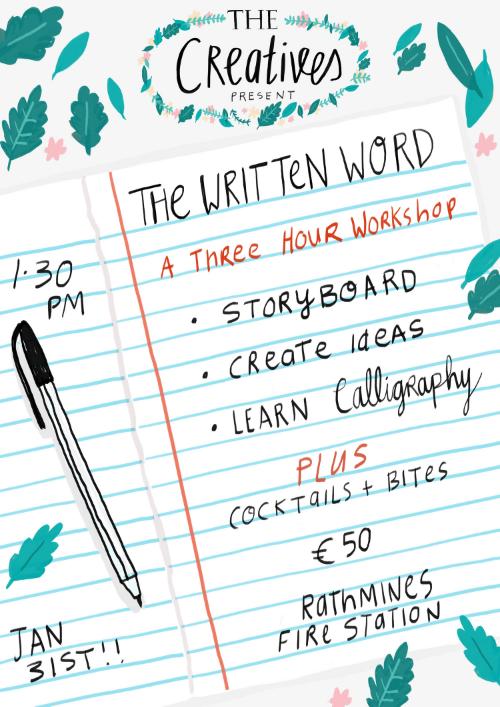 Thewrittenwordworkshop