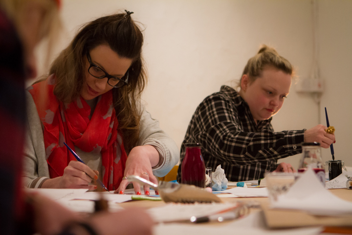 The Creatives Written Word Workshop