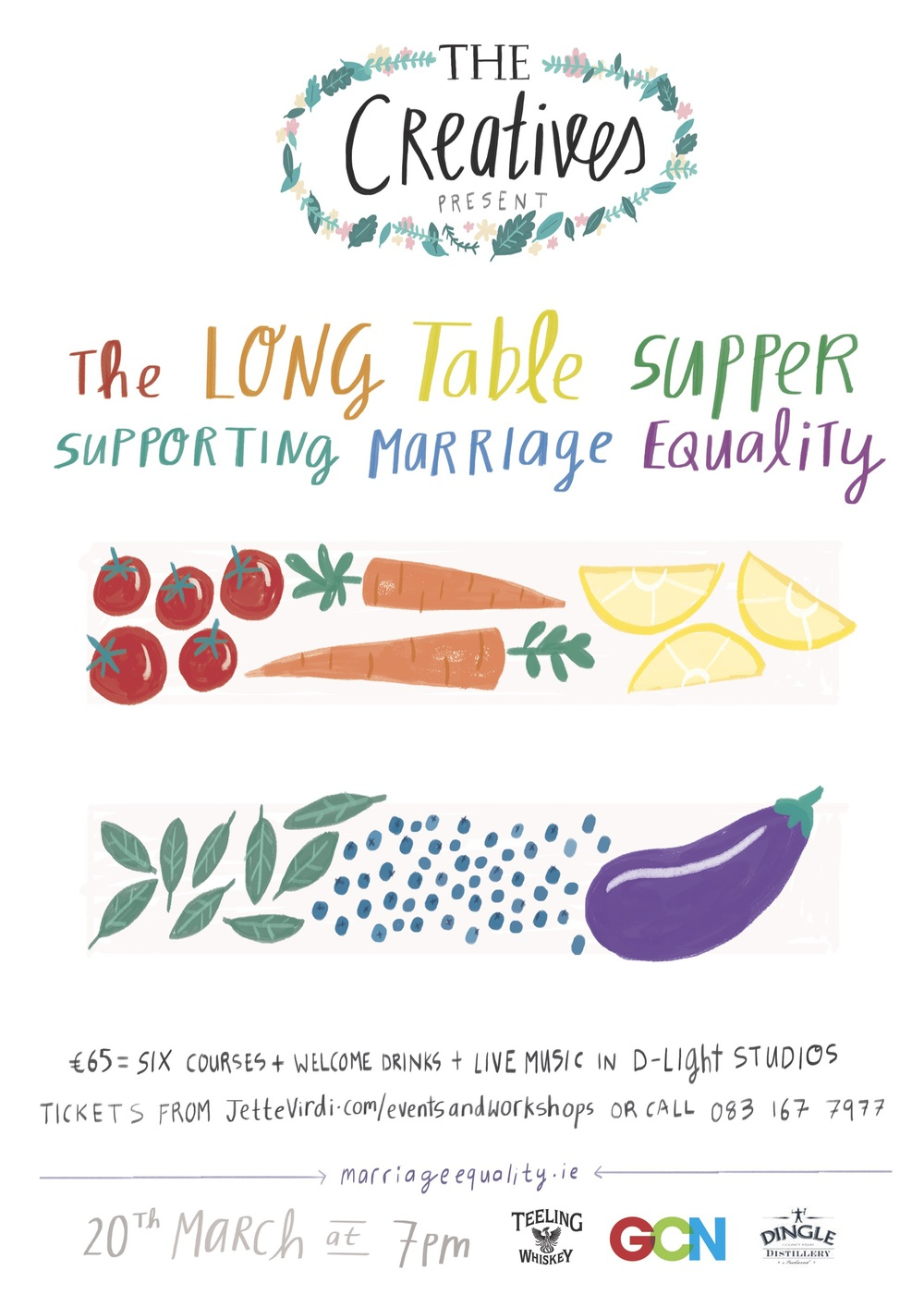 Long Table Supper in aid of Marriage Equality