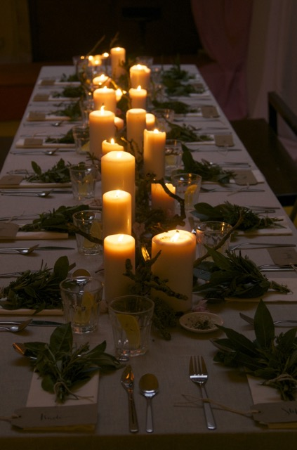 Long Table Supper in Dublin by The Creatives, shot by Emily O'Callaghan