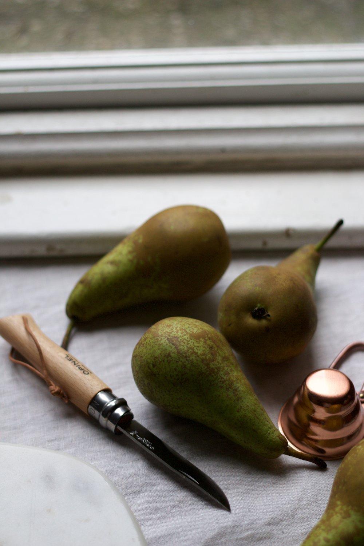 Pear-ing around