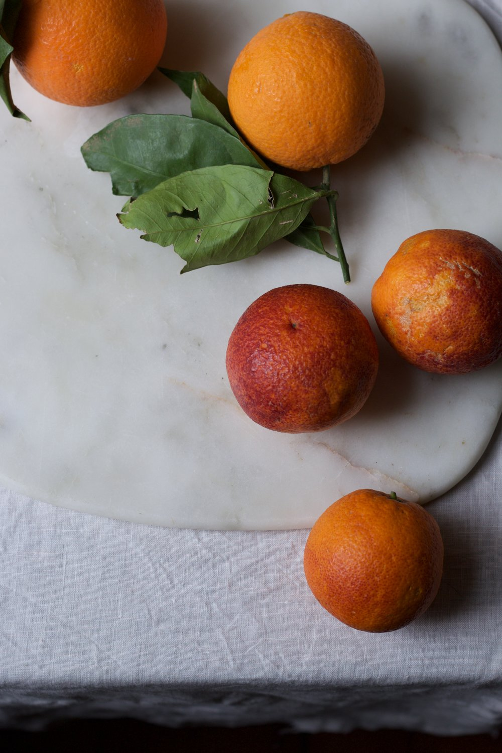 Blood oranges on Jette Virdis blog