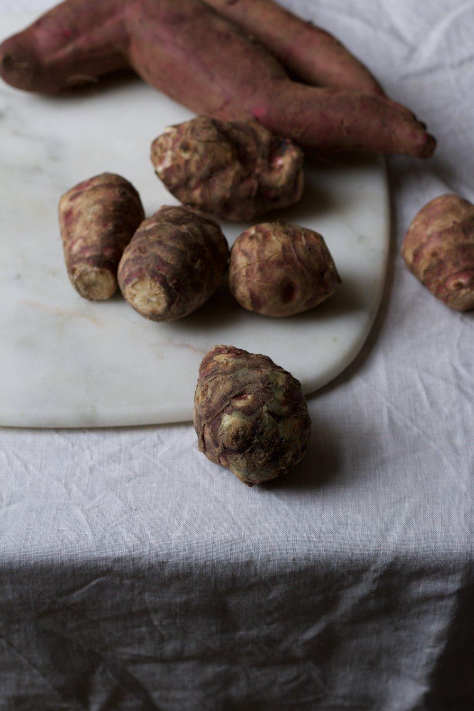 jerusalem artichokes by jette virdis blog