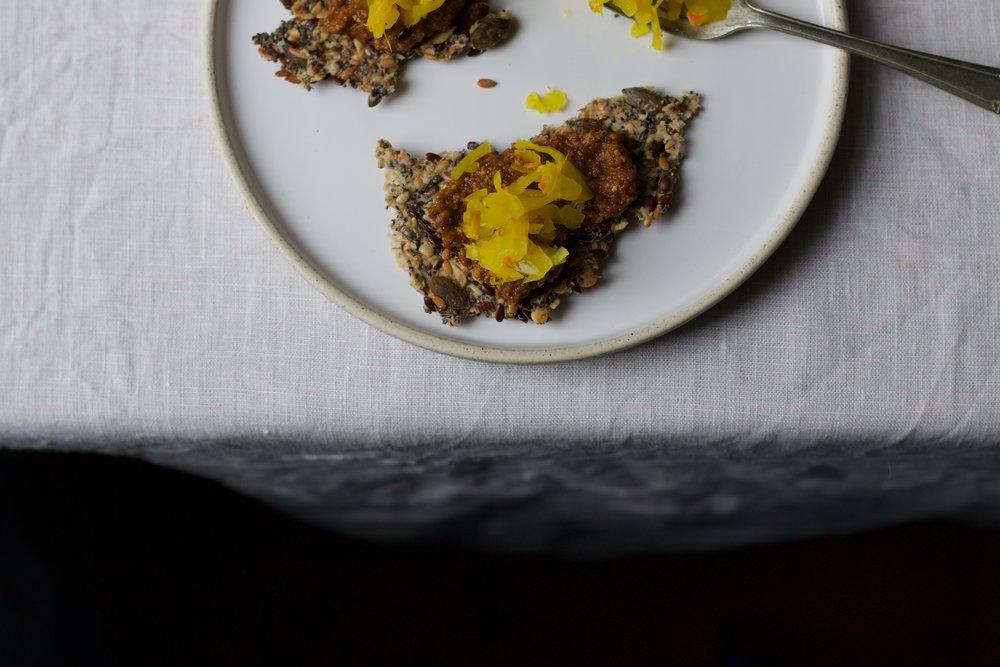 a gluten free snack by jette Virdi