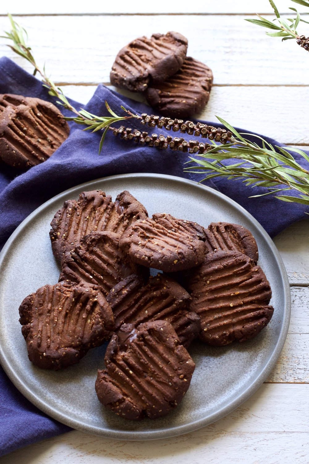 Teff gluten free cookie recipe by food stylist Jette Virdi, based in Dublin and london