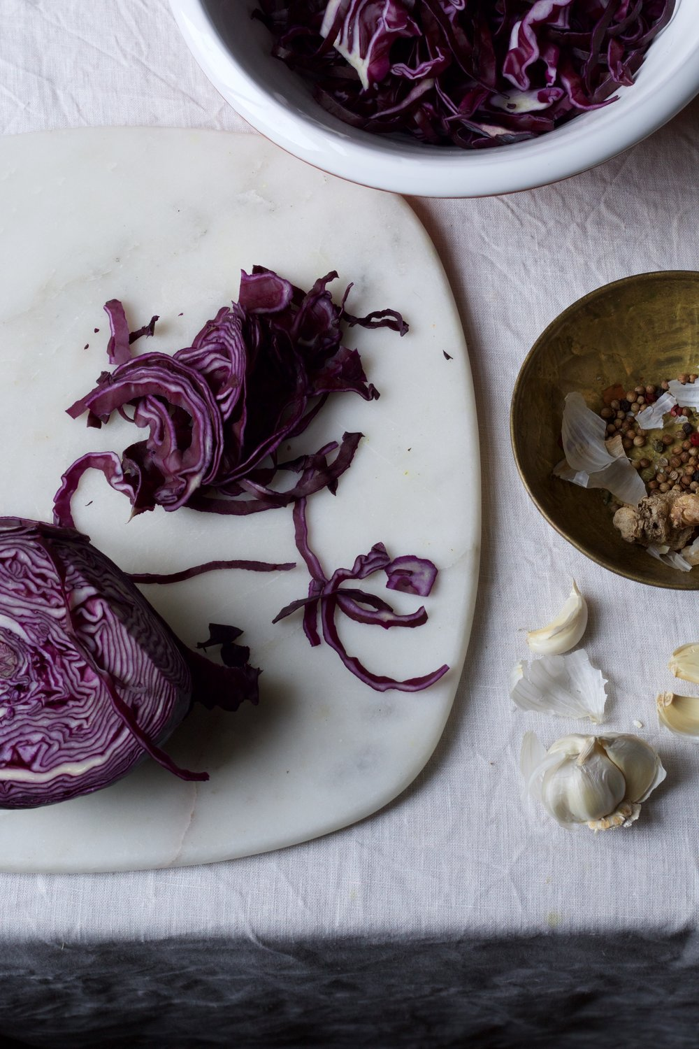 Saurkraut recipe by Jette Virdi, food stylist based in London and Ireland and Portugal