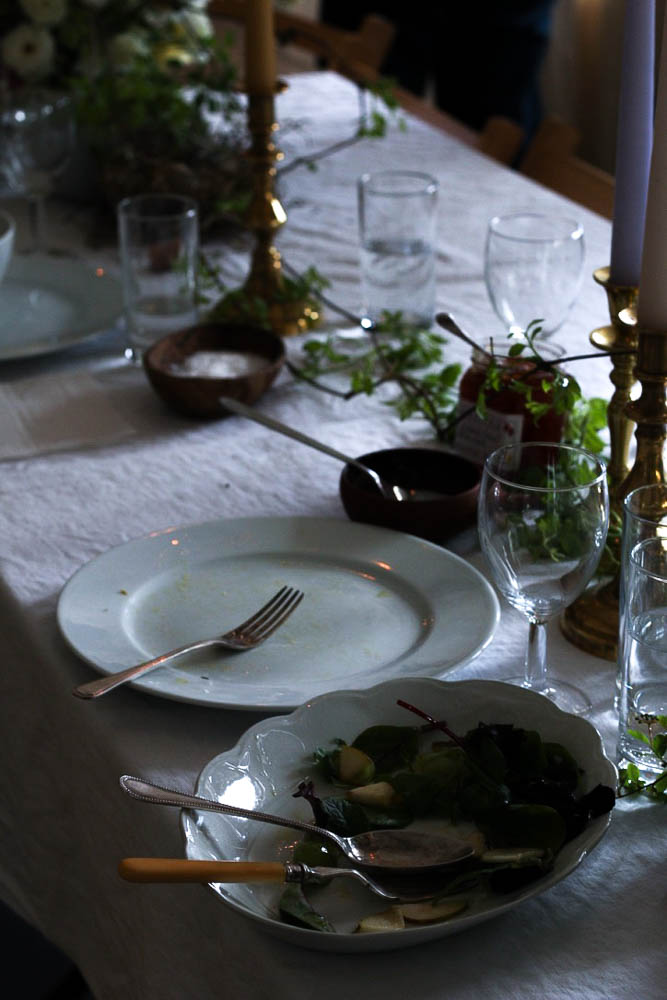 The last supper shot by Jette Virdi, food stylist and photographer based in Dublin, London and New Zealand