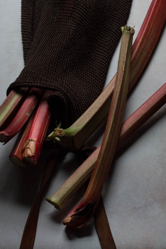 Rhubarb infused gin recipe by Jette Virdi, food stylist and photographer based in Dublin and London