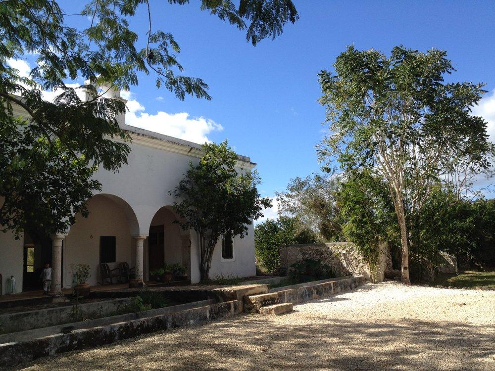 Jette Virdi's hotel in Mexico