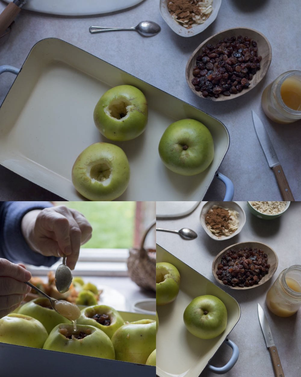 Baked apple recipe by Jette Virdi, recipe creator and stylist based in London and Dublin