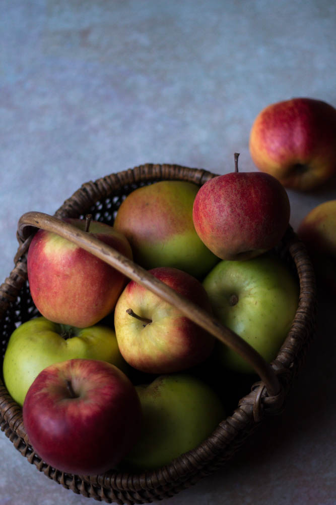 baked apple recipe by Jette Virdi, food stylist and photographer based in London and DUblin