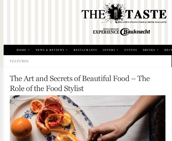 Jette Virdi, food stylist in TheTaste.ie