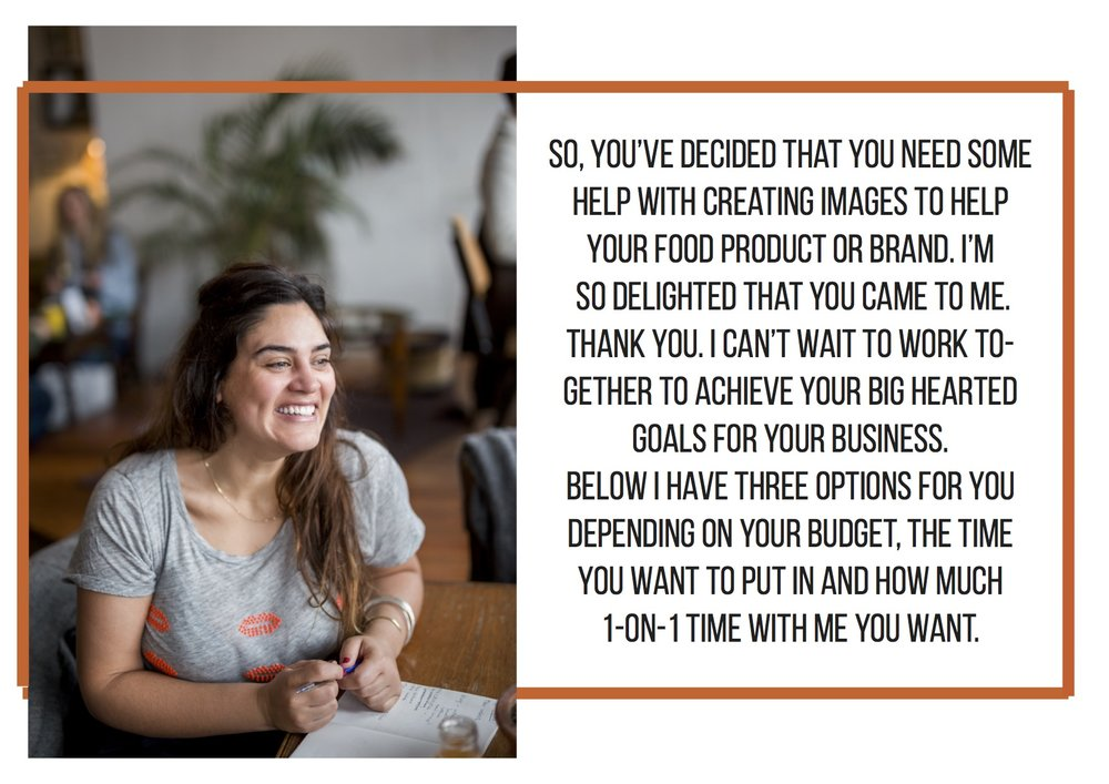 Jette Virdi's mentorship programme for food products and brands