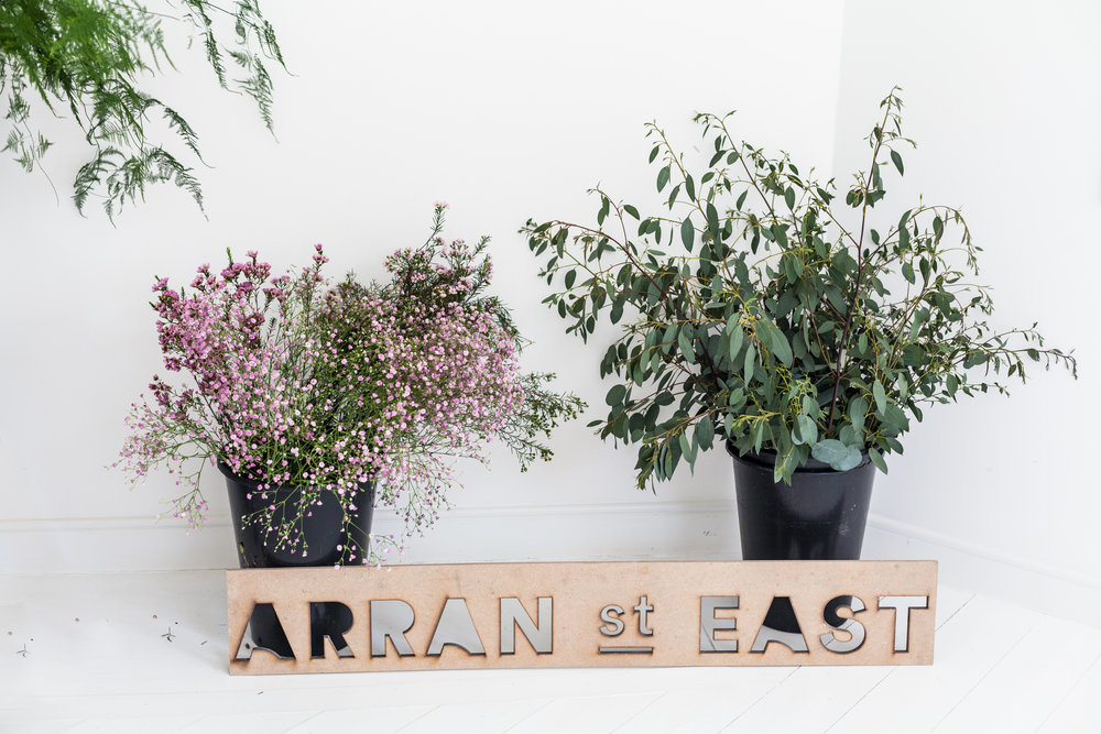 Jette Virdi, stylist based in Dublin hosts Floral Workshops with Arran ST East