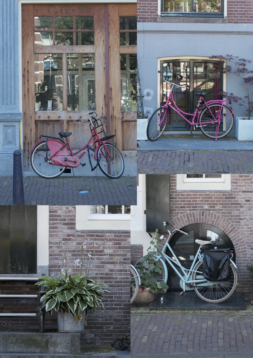 Jette Virdi travels to Amsterdam and sees lots of bikes
