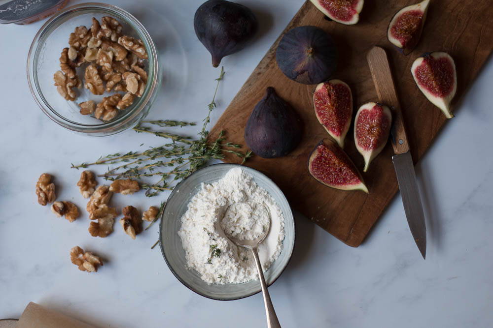 Fig Tart by Jette Virdi, food stylist and photographer based in Dublin, Ireland