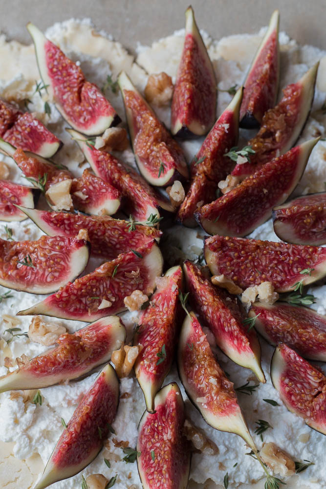 Fig tart by food stylist Jette Virdi, based in Dublin
