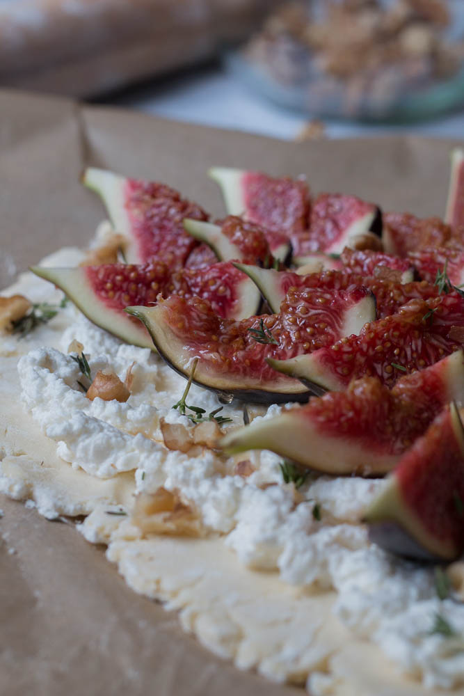 Fig tart styled by Jette Virdi