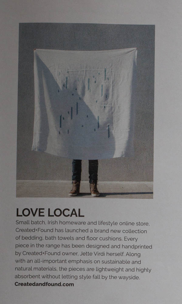 Jette Virdi's homeware range, Created and Found in Houseandhome.ie