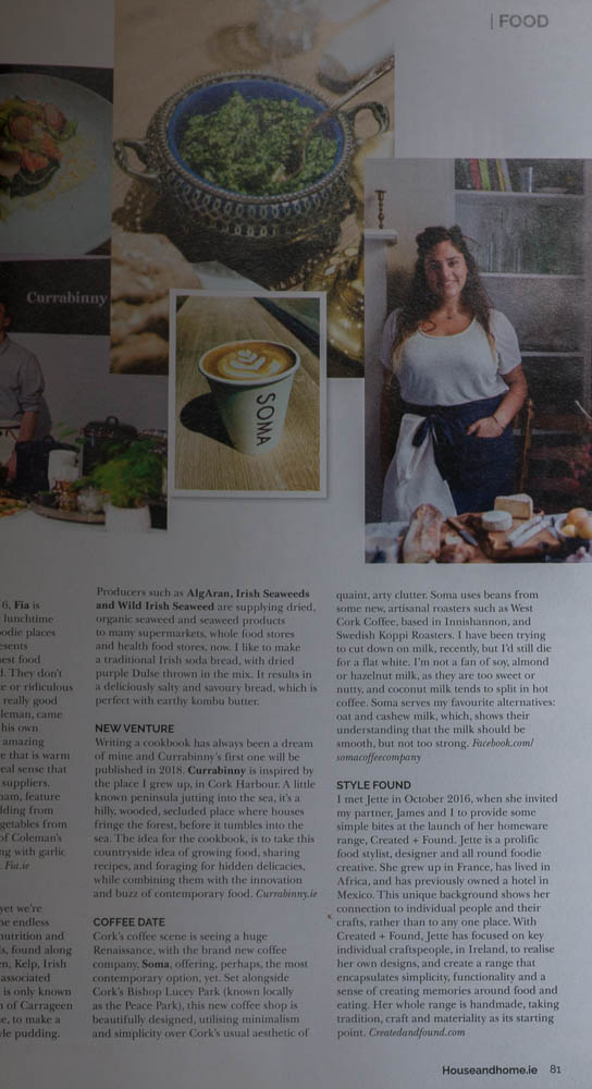 Jette Virdi, press, in Houseandhome.ie magazine