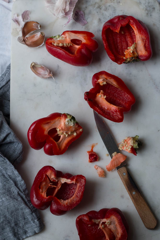 Red pepper soup by Jette Virdi, photographer based in Dublin