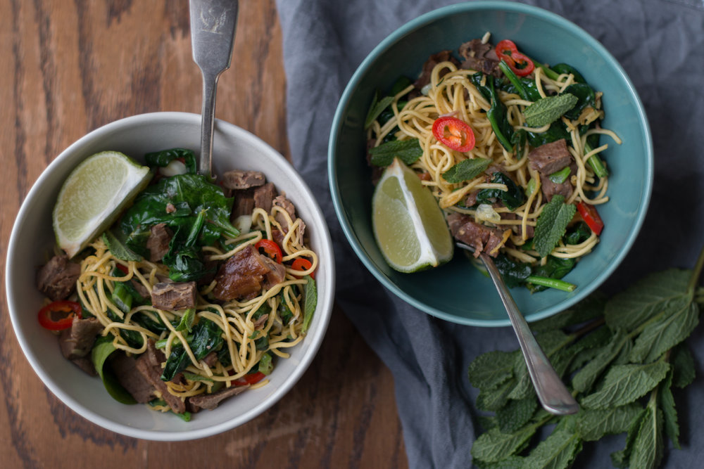 Lamb Stir Fry by Food Stylist Jette Virdi