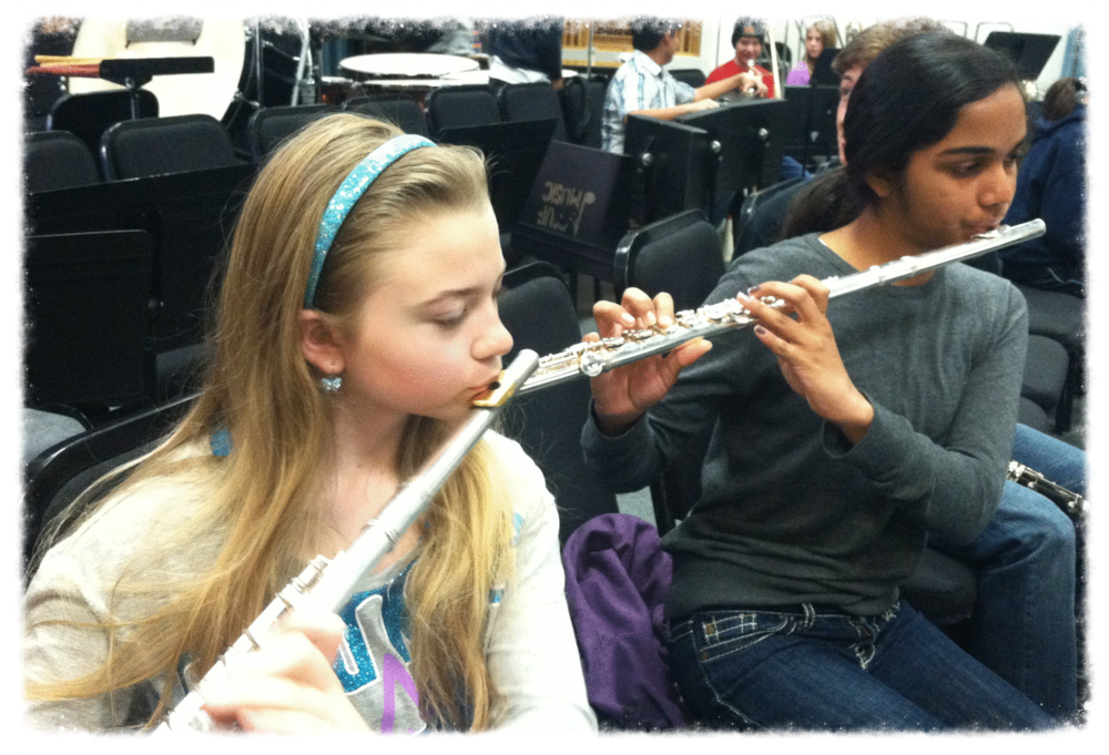 Flutists in the YSO