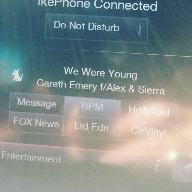 Yoooooo I was flipping through Sirius XM in my car and came across this song on BPM. Congrats to my old friends and X factor fam @alexandsierramusic great to see y'all doin big things