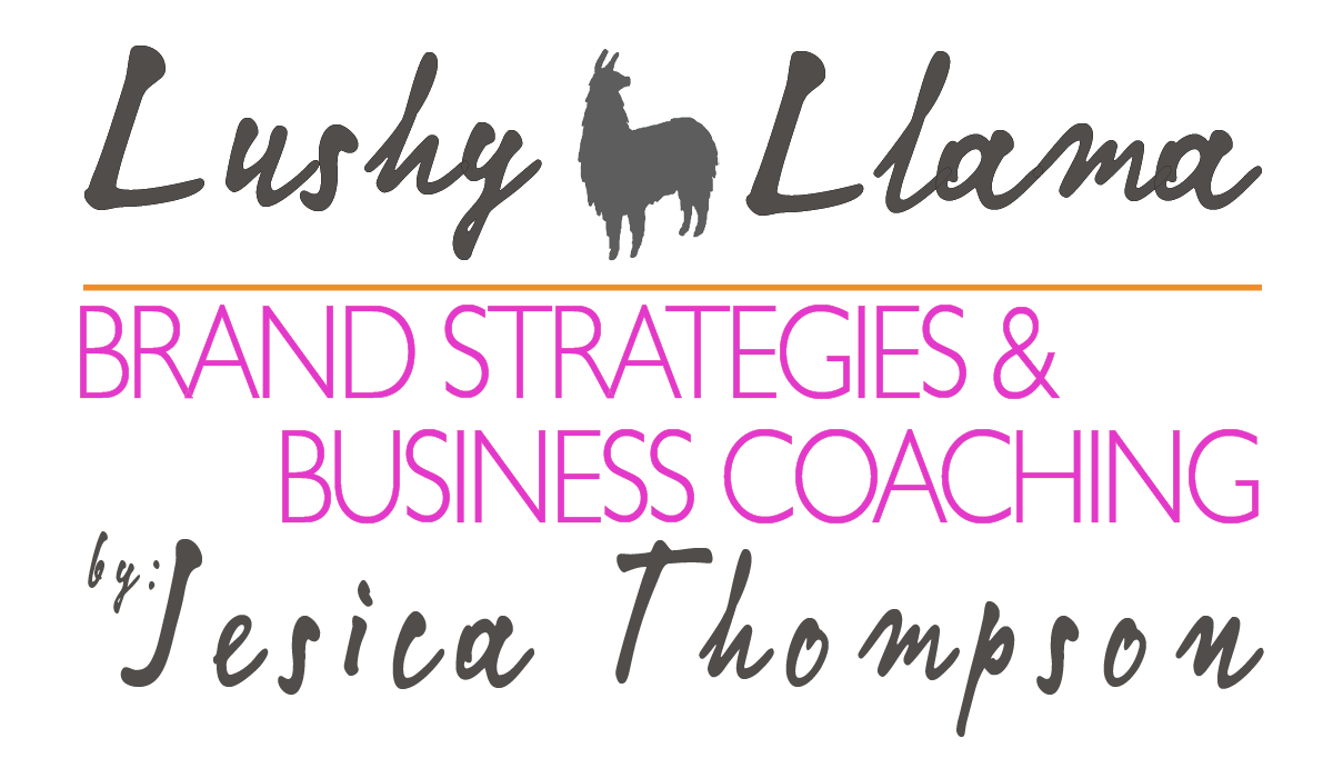 Lushy Llama Brand Strategy Consulting & Business Coaching by Jesica Thompson