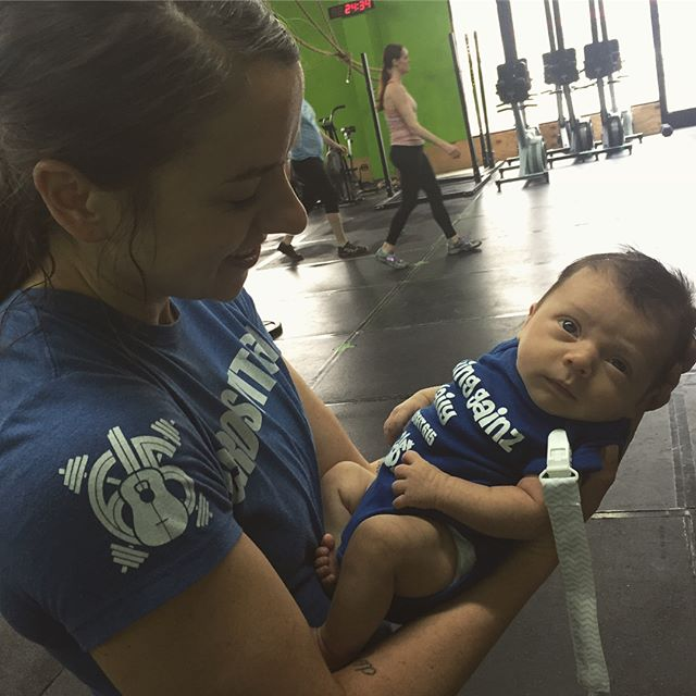 Welcome to our gym family baby Jack!! Congrats on making all of your gains this past month 😂💪🏼 @rachanooch @hertelnick @crossfit615 #Cf615kids #MakingGainzDaily #FutureOfCrossfit #crossfitkids #cf615fam #strongerfasterbettertogether
