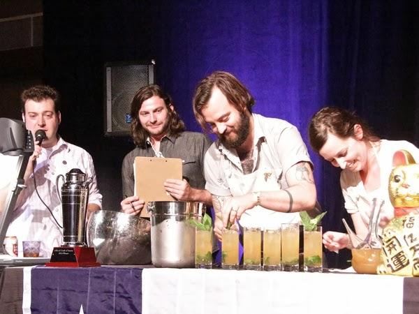 qui bartender Justin Elliott presents the winning tepache