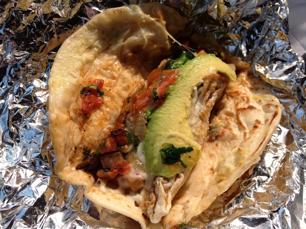 You can't beat the veggie-packed Reyna taco at Veracruz All Natural!