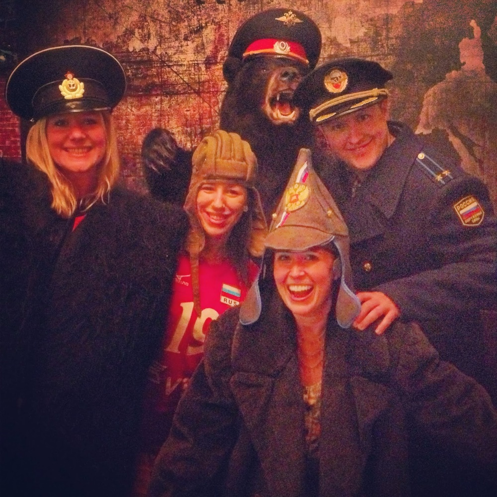 their Russian hat and coat selection make for excellent photo opps