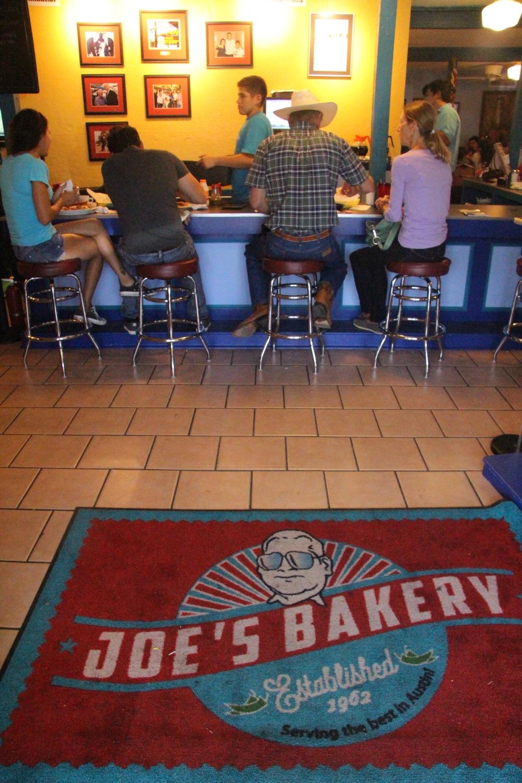 Joe's Bakery in East Austin