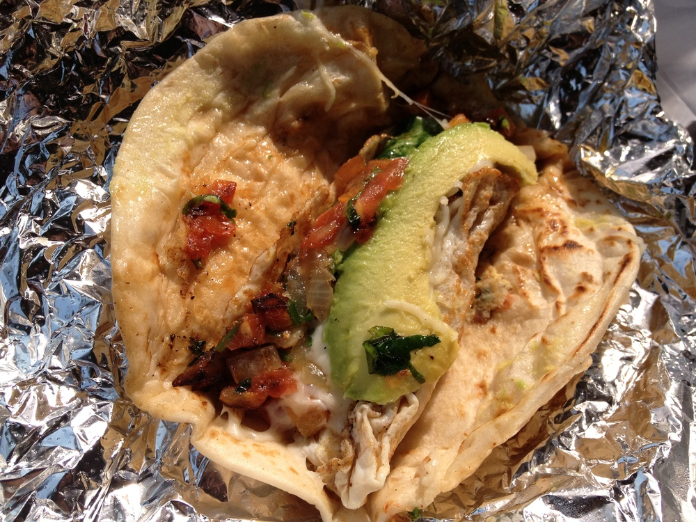 tacos from Veracruz All Natural: simple, fresh perfection