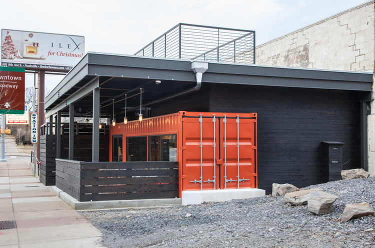 Thinking Inside the Box: 8 Creatively Reused Shipping Containers Food + City, Oct 21 2015