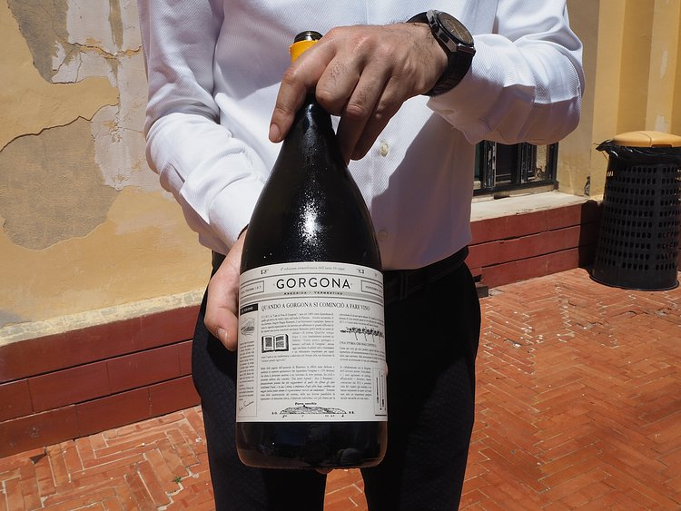 This $146 bottle of wine comes from an Italian prison island    GOOD , Oct 24 2016