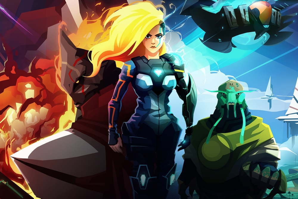 Velocity 2X  |  Developed and published by FuturLab / Sierra  |  PlayStation 4, PlayStation Vita, Xbox One and PC