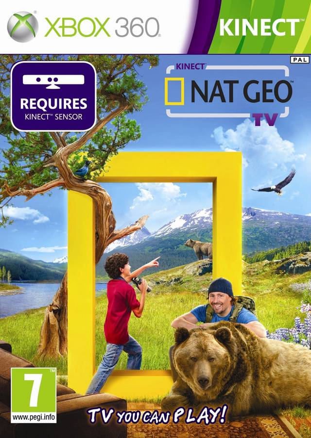 Kinect Nat Geo TV - America the Wild   Developed by Relentless Software  |  Published by Microsoft Game Studios     Xbox 360 & Kinect