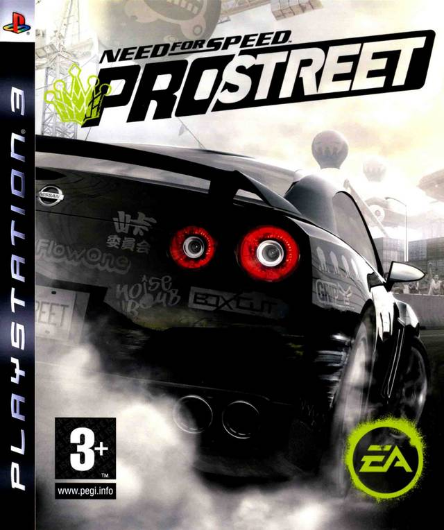Need for Speed: Pro Street   Developed by EA Black Box   Published by EA Games   PlayStation 3 and Xbox 360