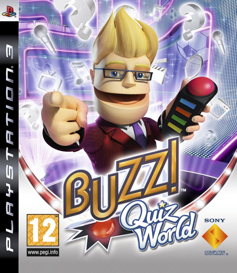 Buzz!: Quiz World   Developed by Relentless Software   Published by Sony Computer Entertainment Europe   PlayStation 3 and PlayStation Portable