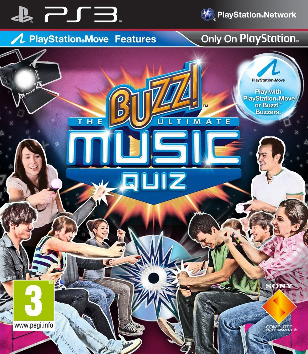 Buzz!: The Ultimate Music Quiz Developed by Relentless Software Published by Sony Computer Entertainment Europe PlayStation 3 and PlayStation Portable