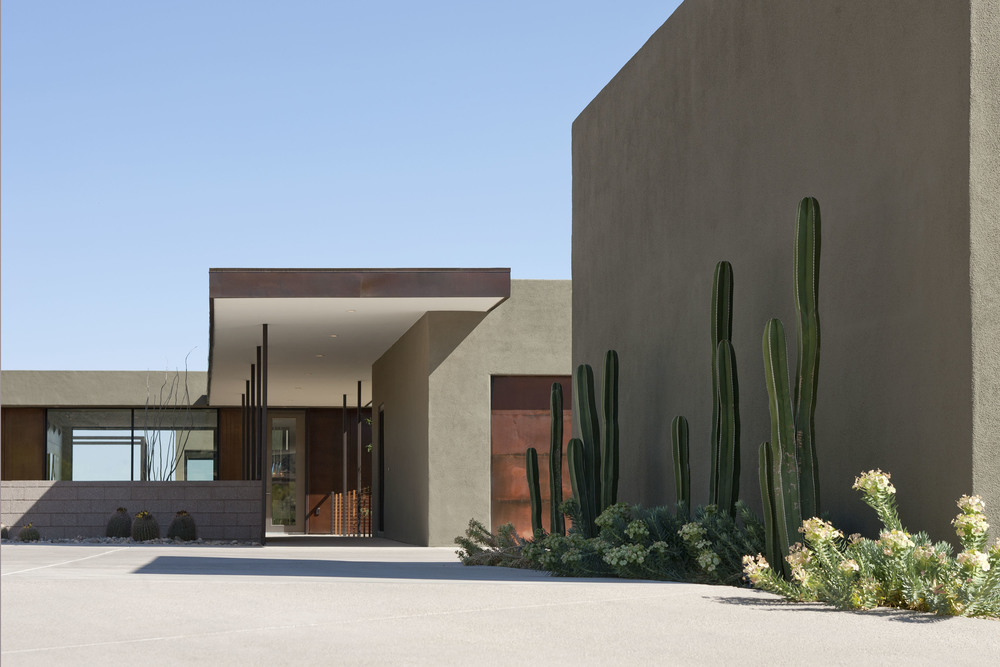 Levin Residence: Arizona — Ibarra Rosano Design Architects
