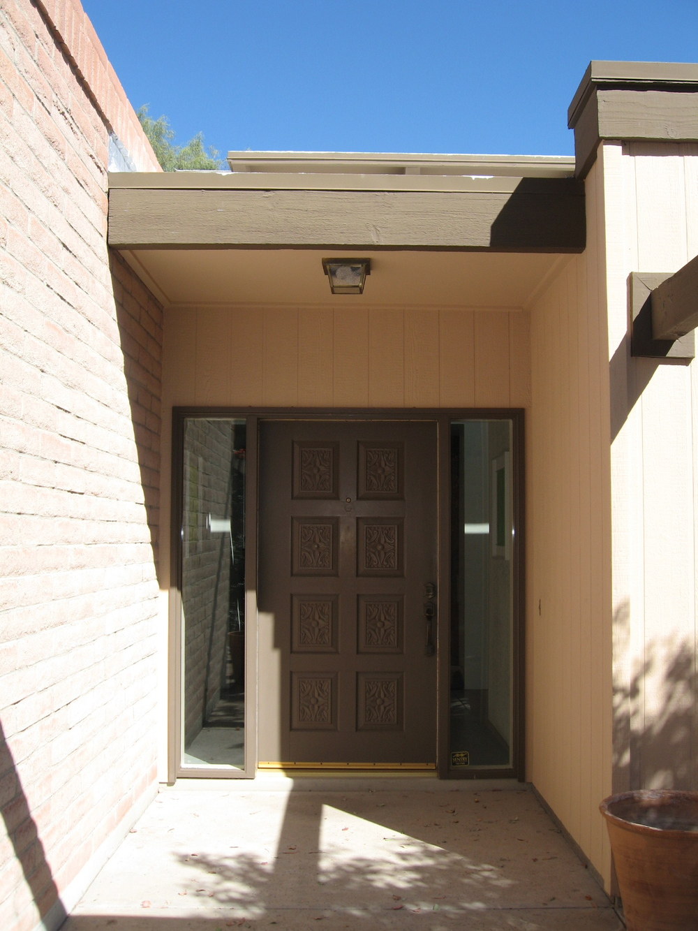 Main Entry Door Before