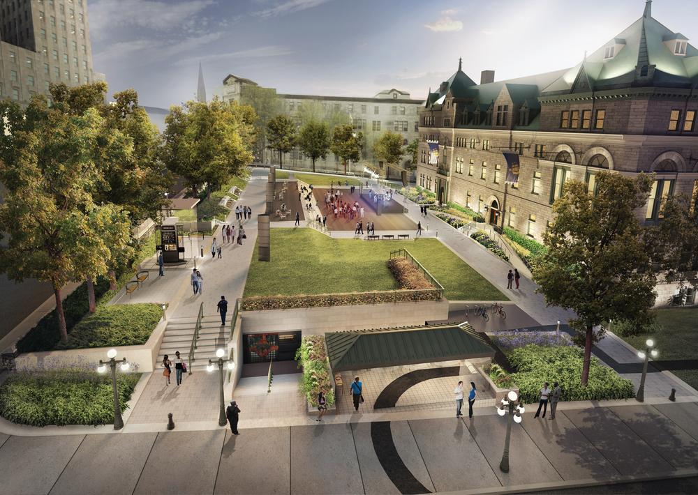 Image fournie par la  Ville de Québec  .