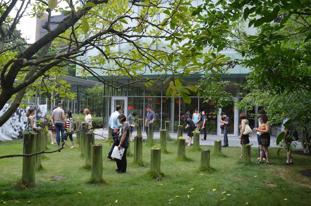 Photo par Bouret fournie par le Festival international de jardins des Jardins de Métis, via v2com.