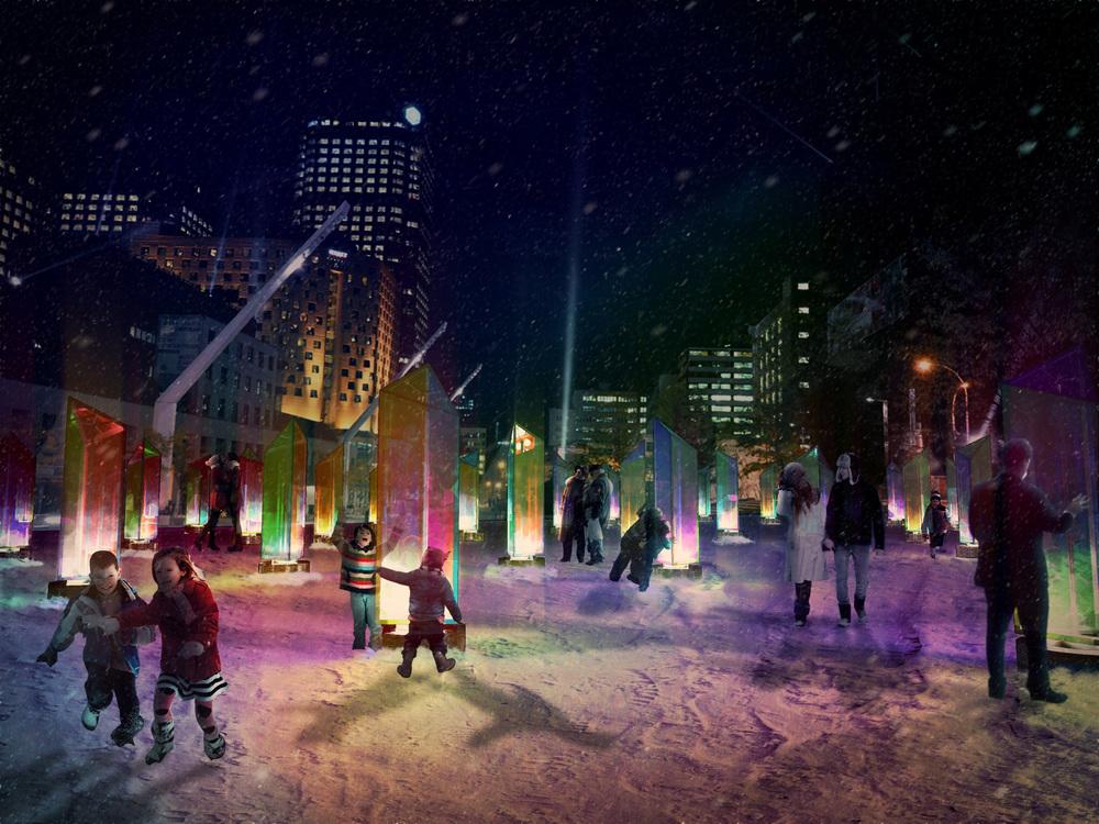 Image par RAW Studio fournie par le Bureau du design de la Ville de Montréal, via v2com.